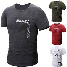 1PCS Mens Sport Casual Short Sleeve T-Shirt Cotton New 2017 Fashion Pop Slim