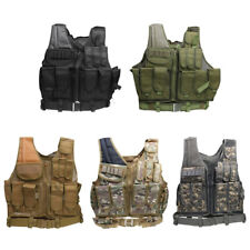MOLLE SWAT Police Military Tactical Heavy Duty Body Protective Hunting Vest