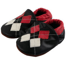 0-24M Baby Soft Sole Leather Anti-Slip Shoes Infant Boy Girl Toddler Moccasin