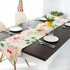 Tablecloth Table Cover Elegant Flower Pattern Wedding Banquet Party Home Decor