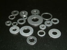 Aluminium Washers- I/D's from 3.5mm up to 12.7mm. Choose from 19 different sizes