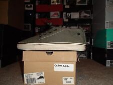 * Mens Levi's Pouch Half 2 Casual Canvas Sneakers Sz 9.5 Red or Olive 501 Shoes*