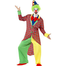 Adult Deluxe Scary Clown La Circus Mens Fancy Dress Costume Outfit 39340