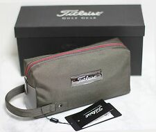 Titleist New Valuables Pouch Bag Titanium Red Black Color Genuine Fast FreeShip