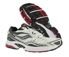 Saucony Rid Fusion 3 Athletic Mens Running Shoes White/black/red Size