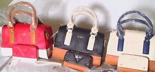 REAGAN COLOR-BLOCKED GUESS HANDBAG and WALLET