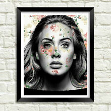 Adele Wall Art, Artwork, Poster, Art Print  | Lisa Jaye Art Designs