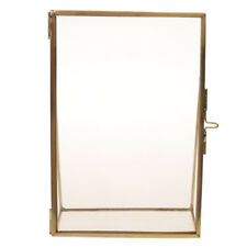 Antique Rectangle Metal Photo Picture Frame Home Room Decoration Gift-Gold