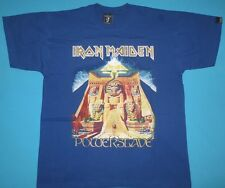 Iron Maiden - Powerslave T-shirt  Blue Power Slave New