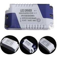6/12/15/24W Home Strip Light Lamp LED Power Supply Driver Transformer Adapter US