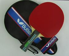 JAPAN Butterfly 7 Star 701 TBC701 Table Tennis Paddle /Bat, with Case, US