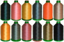 STRONG BONDED NYLON THREAD 60'S, 4500MTR, IPCABOND THREADS, ASSORTED COLOURS