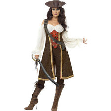 High Seas Pirate Wench Lady Pirate Woman Fancy Dress Costume Outfit 26225
