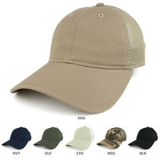 Low Profile Soft Fitting Mesh Back Adjustable Cotton Baseball Cap