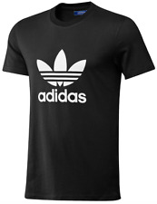 Adidas Originals Men's Trefoil Tee Crew Neck Cotton Casual T-Shirt Size S M L XL