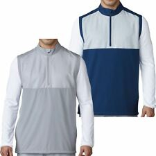 Adidas Golf 2017 Competition Stretch 1/4 Zip Wind Vest Mens Performance Gilet