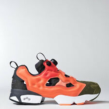 Reebok Mens V67791 Insta Pump Fury casual Shoes green orange red Sneakers