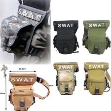HOT Sale!!! SWAT Multiduty Outdoor Leg Drop Utility Bag Thigh Pack Fanny Pack US