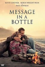 Message in a Bottle DVD Romance Kevin Costner, Robin Wright, Paul Newman