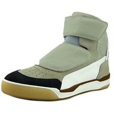 Alexander McQueen By Puma McQ Move Mid Men  Round Toe Leather Tan Sneakers