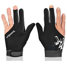 1 Pcs Boodun Breathable Biliard Snooker Pool Cue Shooter Left Right Hand Glove