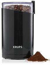 KRUPS F203 Electric Spice and Coffee Grinder with Stainless Steel Blades 3-Ounce