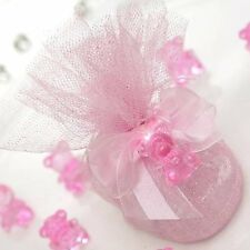 Plastic Teddy Bears Girl Baby Shower Favors Supply Decorations Wholesale SALE
