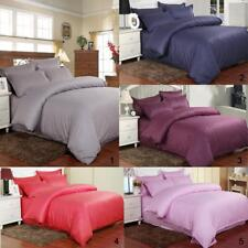 3/4 Pcs Bed Set Bed Sheet with Pillow Case Quilt Cover Single Double & King Size