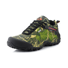 Mens Camouflage Outdoor Hiking Shoes Waterproof Non Slip Climbing Sports Shoes