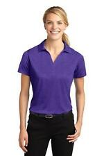 Sport-Tek Womens Polyester Open Placket Polo Shirt Ladies Contender Polo LST660