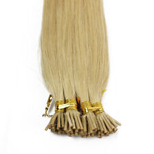 1g/s 100g #24 Natural Blonde Pre-bonded Keratin Stick I-tip Human Hair Extension