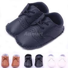 Unisex PU Baby Shoes Toddler Infant Baby Crib First Walking Shoes Sneakers