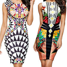 Mini Dress Nightclub Package  Pencil Digital New Hip Vest  Sexy Printing Pen
