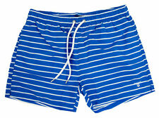 Gant Shorts - Gant Men's Sailor Stripe Swim Shorts Nautical Blue