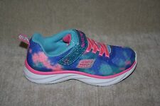 GIRLS SKECHERS MULTI-COLORED ATHLETIC LIGHTWEIGHT SHOES - SEE SIZES (179)