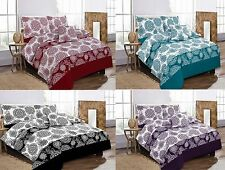 New Megan Design Poly Cotton Duvet/Quilt Covers Pillowcases Bed Sheet Full Set