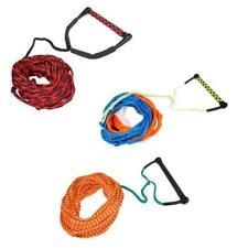 Professional 23m Water Ski Wakeboard Kneeboard Tow Rope Line Cord with Handle