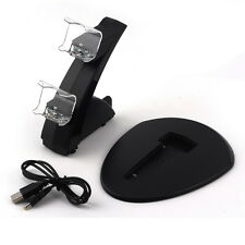 Dual USB Charging Stand Charger Dock for Sony Playstation PS4 Controller F7##MJ
