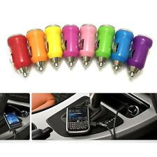 Mini Bullet 1 Port USB Car Charger Adaptor For iPod iPhone 5 6 6S Samsung