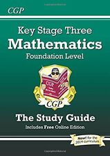 KS3 Maths Study Guide - Foundation: Levels 3-6,PB,Parsons, Richard - NEW