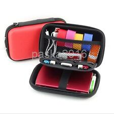 """Portable Carrying Case Bag for 2.5"""" External Hard Drive Disk Storage Pouch"""
