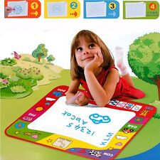 Kids Toys Water Mat Drawing Painting Toddler Board Magic Pen Childrens Gift New