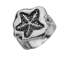 Modern Hand Crafted 925 Sterling Silver SHABLOOL Ring Nature Style