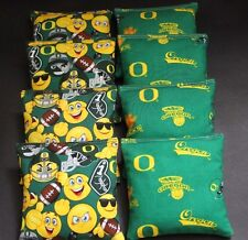 EMOJI University of OREGON DUCKS 8ACA Regulation Top Quality Cornhole Bean Bags