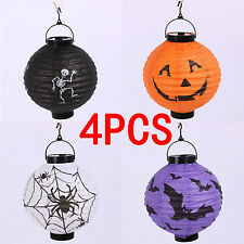 Halloween Decoration Paper Lantern Hanging Pumpkin Lamp Party Home Decor Props