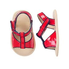 NWT Gymboree State Fair Day Red Baby Girls Patent Sandals Crib Shoes Size 1
