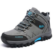 Mens Spring Big Size Trail Hiking Boots Waterproof Non Slip Sports Outdoor Shoes