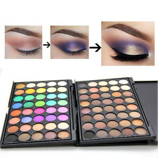 40 Color Cosmetic Matte Eyeshadow Cream Eye Shadow Makeup Palette Shimmer Set TR