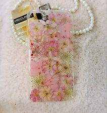 Pressed Flowers leaf for iphone 5 5s 5c 6 6s 7 plus Samsung case cover styl cute