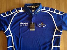The Parachute Regiment - Kooga Rugby Shirts - Royal Blue / White Collar & Piping